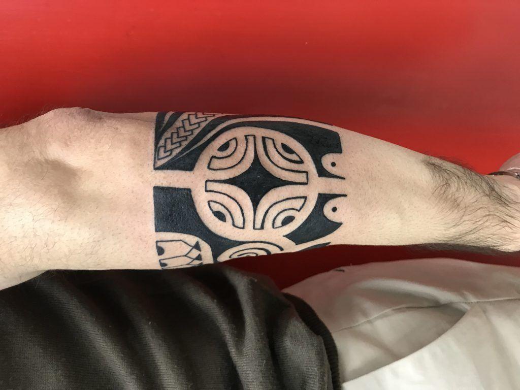 Tatuaggio Bracciale Maori